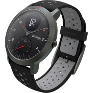 Смарт-часы WITHINGS Steel HR Sport 40mm Black with Silicone Wristband Black/Slate Gray