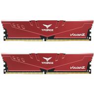 Модуль памяти TEAM T-Force Vulcan Z Red DDR4 3000MHz 16GB Kit 2x8GB (TLZRD416G3000HC16CDC01)