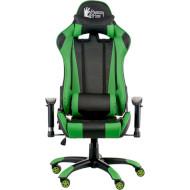 Кресло геймерское SPECIAL4YOU ExtremeRace Black/Green (E5623)