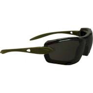 Очки тактические SWISS EYE Detection Rubber Olive Smoke/Clear (40343)