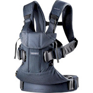Рюкзак-кенгуру BABYBJORN One Air Mesh Navy Blue (098008)
