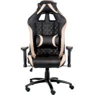 Кресло геймерское SPECIAL4YOU ExtremeRace 3 Black/Cream (E5654)