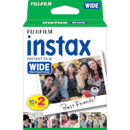 Бумага для камер моментальной печати FUJIFILM Instax Wide White 20шт (16385995)