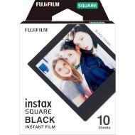 Бумага для камер моментальной печати FUJIFILM Instax Square Black 10шт (16576532)