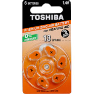 Батарейка для слухового аппарата TOSHIBA PR48 6шт