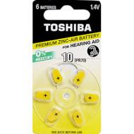 Батарейка для слухового аппарата TOSHIBA PR536 6шт