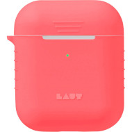 Чехол LAUT Pod Neon for AirPods Electric Coral (L_AP_PN_R)