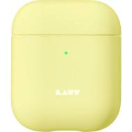 Чехол LAUT Huex Pastels for AirPods Sherbet (L_AP_HXP_Y)