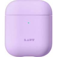 Чехол LAUT Huex Pastels for AirPods Violet (L_AP_HXP_PU)