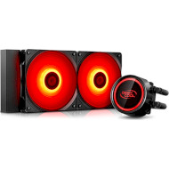 Система водяного охлаждения DEEPCOOL Gammaxx L240T Red