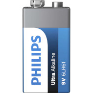 Батарейка PHILIPS Ultra Alkaline «Крона» (6LR61E1B/10)