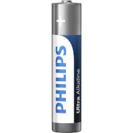 Батарейка PHILIPS Ultra Alkaline AAA 4шт/уп (LR03E4B/10)
