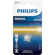 Батарейка PHILIPS A76 Alkaline LR44 (A76/01B)