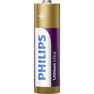 Батарейка PHILIPS Lithium Ultra AA 4шт/уп (FR6LB4A/10)