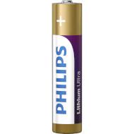 Батарейка PHILIPS Lithium Ultra AAA 4шт/уп (FR03LB4A/10)