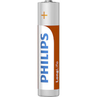 Батарейка PHILIPS LongLife AAA 4шт/уп (R03L4B/10)