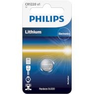 Батарейка PHILIPS Lithium CR1220 (CR1220/00B)