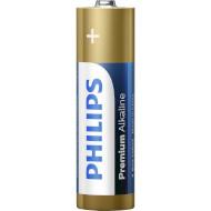 Батарейка PHILIPS Premium Alkaline AA 4шт/уп (LR6M4B/10)