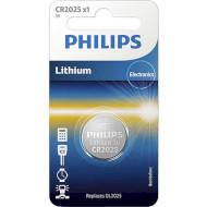 Батарейка PHILIPS Lithium CR2025 (CR2025/01B)
