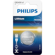 Батарейка PHILIPS Lithium CR2430 (CR2430/00B)