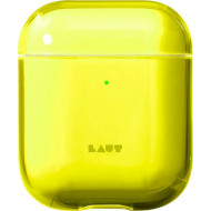 Чехол LAUT Crystal-X for AirPods Acid Yellow (L_AP_CX_Y)