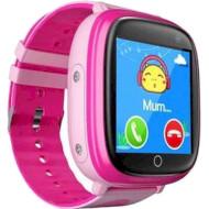 Часы-телефон детские GOGPS K14 Pink