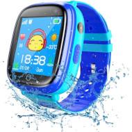 Часы-телефон детские GOGPS K14 Blue
