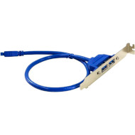 Адаптер USB 20-pin - Type-A 0.5м ATCOM (15259)