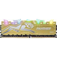 Модуль памяти APACER Panther Rage RGB Silver-Golden DDR4 2666MHz 8GB XMP (EK.08G2V.GQM)