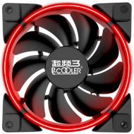 Вентилятор PCCOOLER Corona 80 Red LED