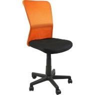 Кресло офисное OFFICE4YOU Belice Black/Orange (27731)