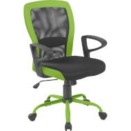 Кресло офисное OFFICE4YOU Leno Gray/Green (27784)
