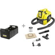 Хозяйственный пылесос KARCHER WD 1 Compact Battery Set + органайзер (9.611-310.0)