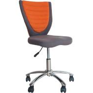 Кресло офисное OFFICE4YOU Poppy Gray/Orange (38153)