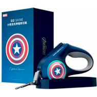 Поводок для собак PETKIT Marvel Go Shine Telescopic Traction Rope Captain America