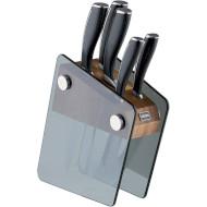 Набор кухонных ножей VINZER Crystal 5шт (89113)