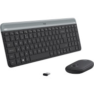 Комплект бездротовий LOGITECH MK470 Wireless Combo Graphite (920-009206)