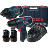 Набор электроинструментов BOSCH GSR 120-Li + GDR 120-Li Combo (0.601.9F0.002)