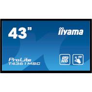 """Информационный дисплей LFD 43"""" IIYAMA ProLite T4361MSC-B1"""