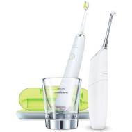 Зубная щётка PHILIPS Sonicare DiamondClean + ирригатор AirFloss Ultra HX8491/01