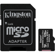 Карта памяти KINGSTON microSDXC Canvas Select Plus 128GB UHS-I U3 V10 A1 Class 10 + SD-adapter (SDCS2/128GB)