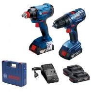 Набор электроинструментов BOSCH GDX 180-Li + GSR 180-Li Professional (0.601.9G5.222)