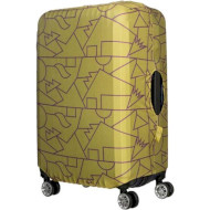 Чехол для чемодана TUCANO Compatto Mendini L Lime (BPCOTRC-MENDINI-L-VA)