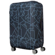Чехол для чемодана TUCANO Compatto Mendini M Black (BPCOTRC-MENDINI-M-BK)