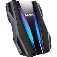 Портативный жёсткий диск ADATA HD770G RGB 1TB USB3.2 Black (AHD770G-1TU32G1-CBK)