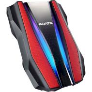 Портативный жёсткий диск ADATA HD770G RGB 1TB USB3.2 Red (AHD770G-1TU32G1-CRD)