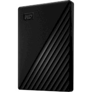 Портативный жёсткий диск WD My Passport 2TB USB3.2 Black (WDBYVG0020BBK-WESN)
