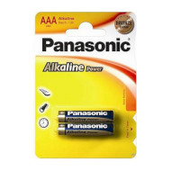 Батарейка PANASONIC Alkaline Power AAA 2 шт./уп. (LR03REB/2BP)