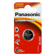 Батарейка PANASONIC Lithium Power CR2032 (CR-2032EL/1B)