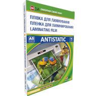 Плёнка для ламинирования D&A Antistatic A5 75мкм 100л (11201011106YA)